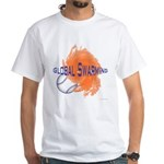 Global Swarming White T-Shirt