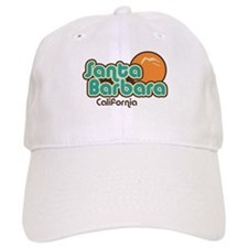 Santa Barbara California Baseball Cap