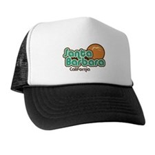 Santa Barbara California Trucker Hat