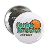 "Santa Barbara California 2.25"" Button"