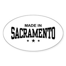 Made In Sacramento Decal