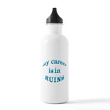 My Career Is In Ruins Water Bottle