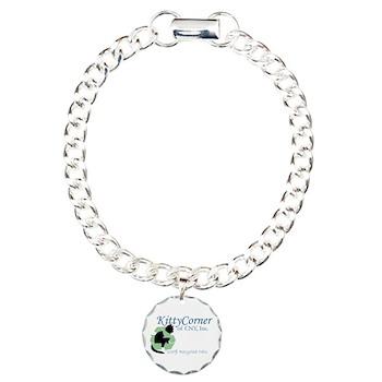 Kitty Corner Charm Bracelet, One Charm