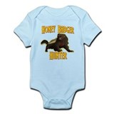 Honey Badger Hunter Onesie