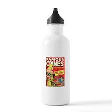 Famous Crimes Water Bottle