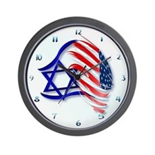 Stand With Israel Wall Clock