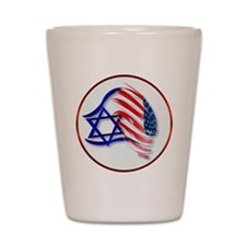 Stand With Israel Shot Glass
