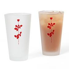 Depeche Mode Rose Drinking Glass