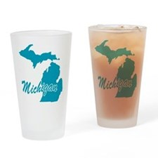 State Michigan Pint Glass