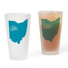 State Ohio Pint Glass