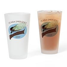 2007 Cicada Pint Glass