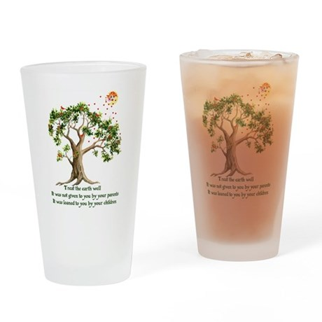 Kenyan Nature Proverb Pint Glass
