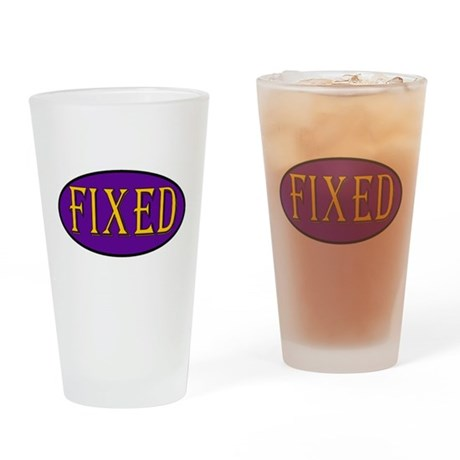 Fixed Pint Glass