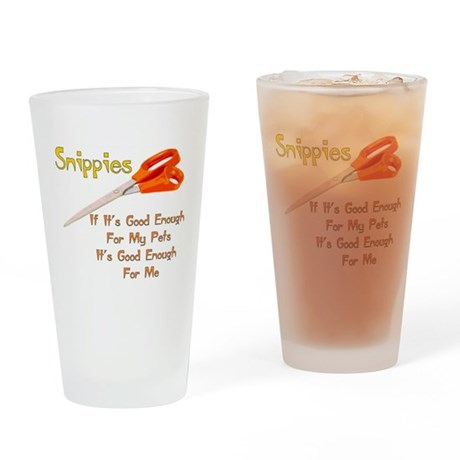 Snippies Pint Glass