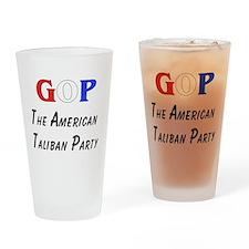 GOP American Taliban Pint Glass