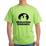 Operation Kindness Logo Green T-Shirt