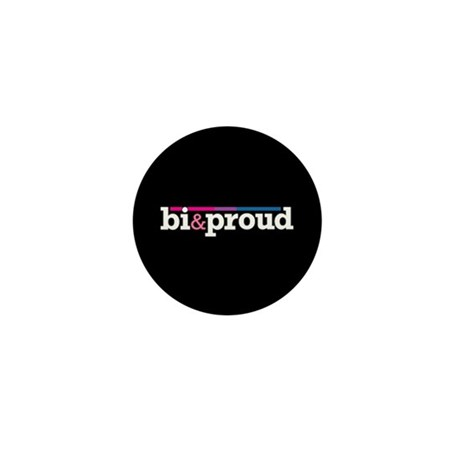 Bi&proud Black Mini Button