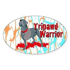 Tripawd Warrior Bellona Decal