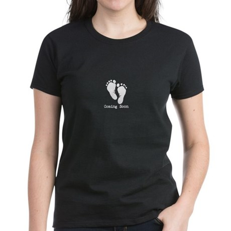 New Baby Coming Soon Women's Dark T-Shirt