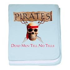 Dead Men Tell No Tales baby blanket