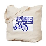 Ride In The Street Tote Bag
