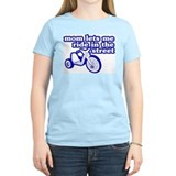 Ride In The Street Women's Pink T-Shirt