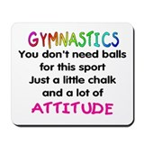 Cool Gymnastics Mousepad