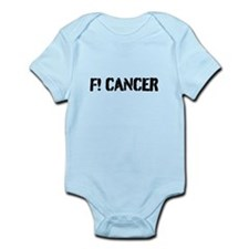 Unique F cancer Infant Bodysuit