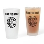 Firefighter Drinking Glass For Home or Fire Station