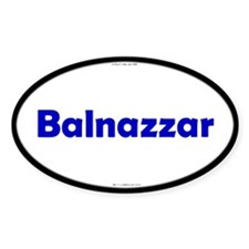 Balnazzar Blue Server Oval Decal