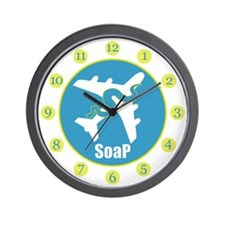 SoaP Wall Clock