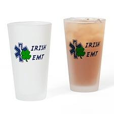 Irish EMT Drinking Glass