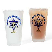 Jewish Star Passover Drinking Glass
