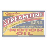 Streamline Motor Oil Stickers
