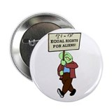 "Alien Rights 2.25"" Button (100 pack)"