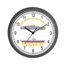 USS Bon Homme Richard CVA-31 Wall Clock