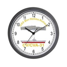 USS Bon Homme Richard CVA-31 Wall Clock