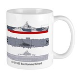 USS Bon Homme Richard CV 31 CVA-31 Small Mug