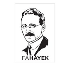 Hayek Postcards (Package of 8)