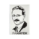 Hayek Rectangle Magnet (100 pack)