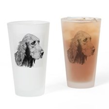 Irish Setter Pencil Drawing Pint Glass