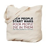 NO MORE WAR! Tote Bag