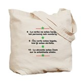Little Green Star Tote Bag