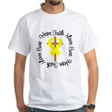 Testicular Cancer Hope Faith  Shirt
