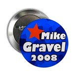 100 bulk discount Gravel for President buttons