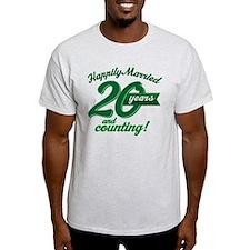 20 Years Anniversary Gift T-Shirt