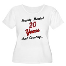 20th Anniversary Gift Married T-Shirt