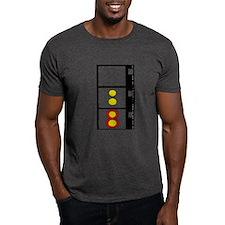 Super 8 Film Strip Design T-Shirt Choice Of Colour
