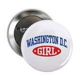"Washington DC Girl 2.25"" Button"