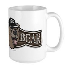 Papa Bear Wear Logo Mug